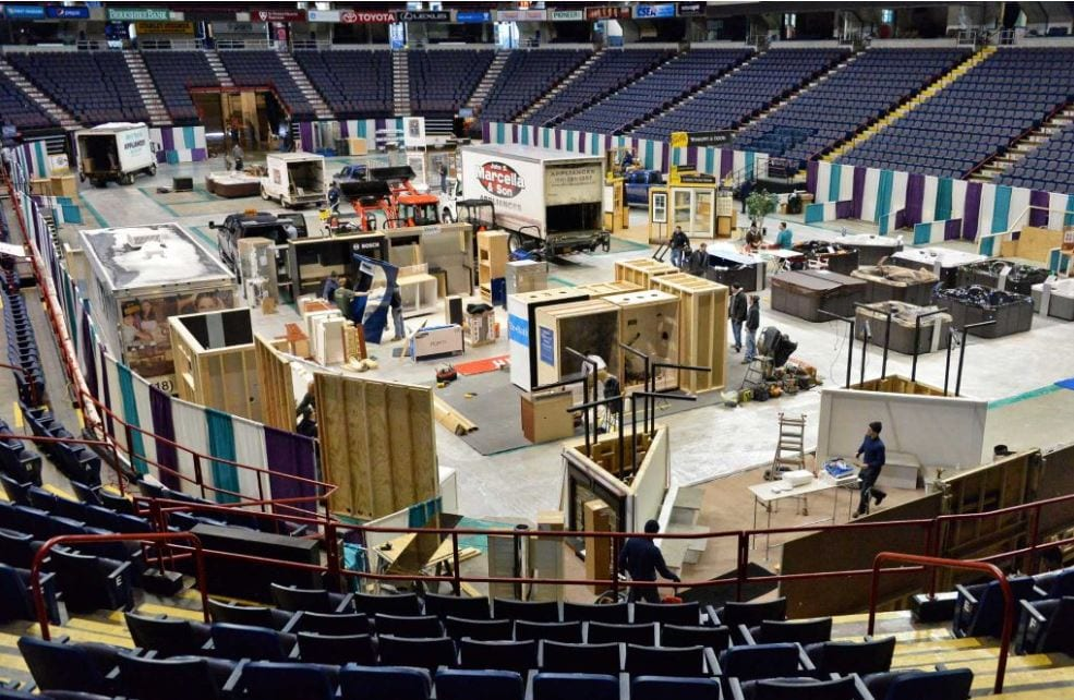 MOVE IN DAY!!! 36th Annual Home Expo 2016
