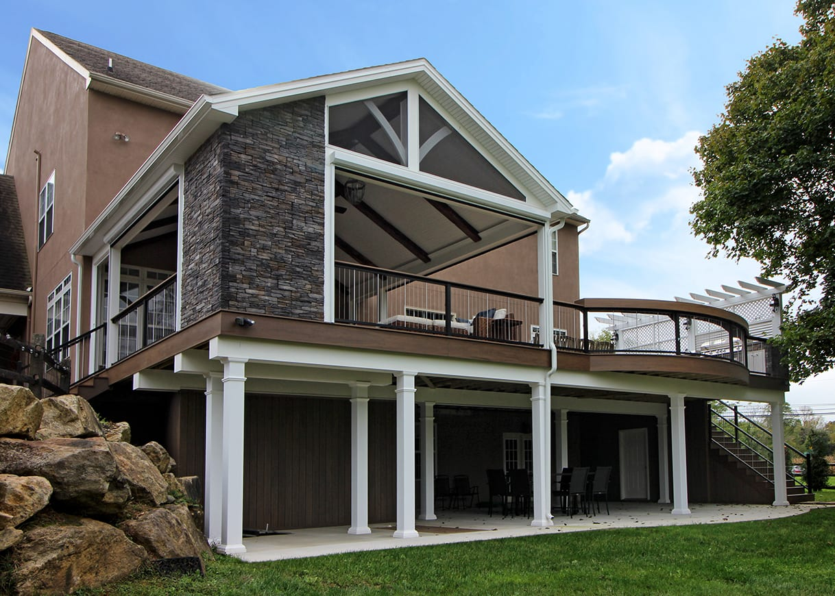 Times Union Home Expo Albany Ny The Perfect Deck